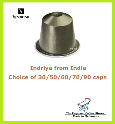 30 50 60 70 90 Capsules Nespresso Indriya from India Coffee Pods - Intensity 10