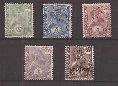 Abissinia Empire - Lot Of Stamps