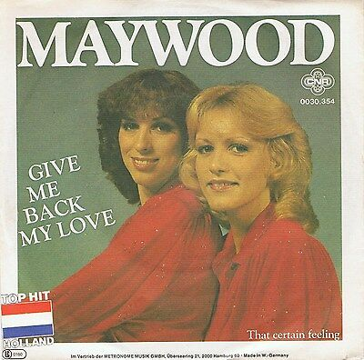 "7"" Single - Maywood / Give Me Back My Love"