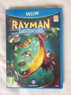 Rayman Legends for Nintendo Wii U 100% Complete Great Condition