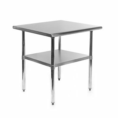 Gridmann NSF Stainless Steel Commercial Kitchen Prep  Work Table - 30 in. x 24