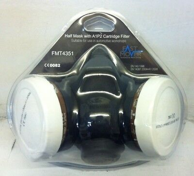 Fast Mover Half Mask With A1P2 Cartridge Filter FREE POSTAGE