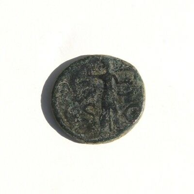"""Claudius I A.D. 41-54 AE As """"Minerva Holding Spear & Shield"""" Spanish Mint #3"""