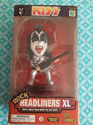"""Kiss Gene Simmons """"the Demon Headliners Collectable Doll - Limited Edition"""
