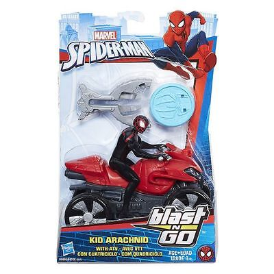 NEW Marvel Spider-Man Blast 'N Go Age: 3+ .