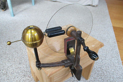 Antique Electrostatic Winter Machine circa 1920 Good Condition