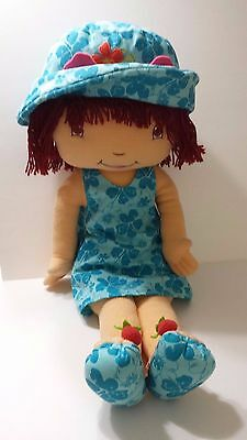 Strawberry Shortcake Plush - Measures 28 inches - large doll