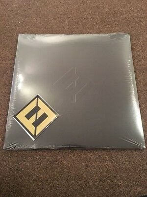 Foo Fighters Concrete And Gold Black On Black Double Lp Vinyl Sealed + Sticker