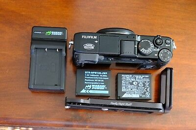 Fujifilm X Series X-E2 16.3MP Digital Camera - Black (Body Only), box and extras