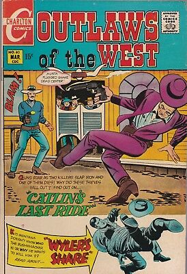 Outlaws of the West #80 (Mar 1970, Charlton)