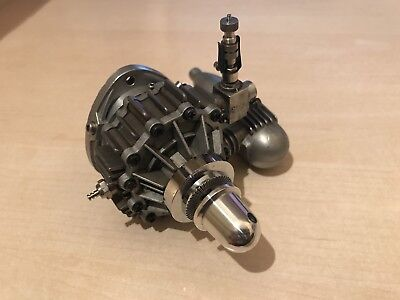 GRAUPNER O.S. N.S.U. WANKEL MODEL AIRCRAFT ENGINE .30cu.in. (4.9cc) - RARE
