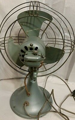 Working Mid Century Oscillating Fan made by GE.