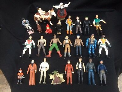 Job Lot Of Toy Figures - Various Including Star Wars Etc