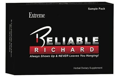 Reliable Richard Extreme 4 Pill Sample - #1 Male Booster, Performance Booster!