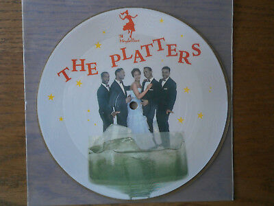 """Single 7""""  Picture  THE PLATTERS Only You / My Prayer Maybellene 74"""