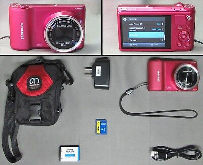 Samsung Wb800F 16.3 Mp Digital Camera + Accessories