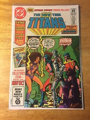 The New Teen Titans #16 (Feb 1982, DC) First Appearance Captain Carrot Near Mint