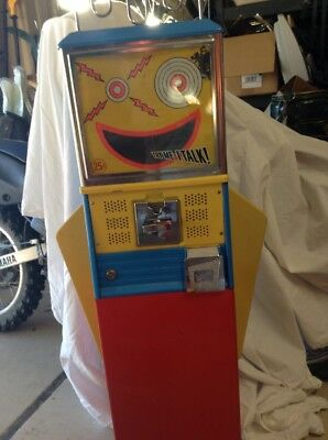 1960's Northwestern Mouthy Marvin Talking Gumball Machine Robot Vending~