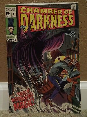 Chamber of Darkness #1 (1969 Marvel) - Horror Comics - Mid-Grade (5.0)