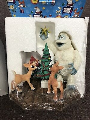 Rudolph Island of Misfit Toys/Bumble's Shining Moment Statue by Enesco NIB!