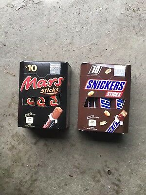 Mars & Stickers Sticks 5900g