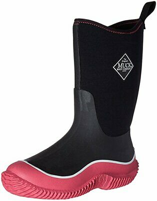 33adee6bc54e4 Muck Boots Hale Toddler Youth Kids Boys / Girls Waterproof Snow Boot Black  Pink