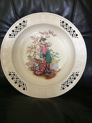 Rare Royal Creamware Ltd Edition Plate