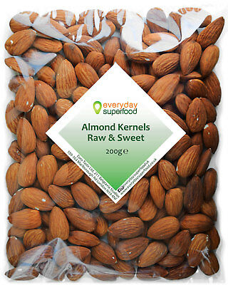 Almond Nuts Premium Raw extra LARGE Almonds Nuts by Everyday Superfood brand