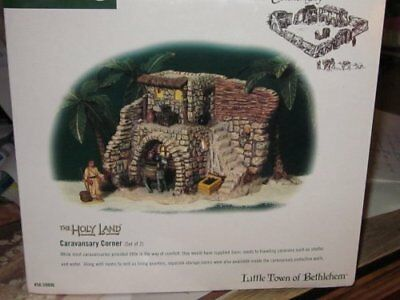 Department 56 Little Town of Bethlehem Caravansary Corner Set/2 Holy Land 59806