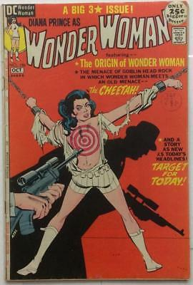 Wonder Woman #196 (DC 1971) VG+ condition. Bronze Age classic.