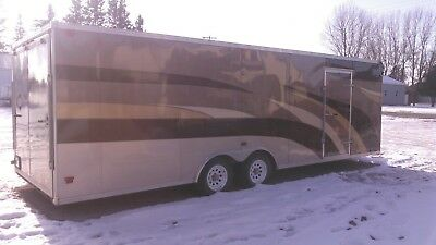 28ft Timber Wolf Enclosed trailer