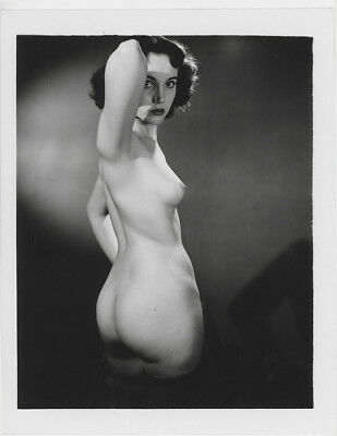 Nude 4X5 Original Photo Sexy Woman 1950's Vintage Pinup Photo VN3.31