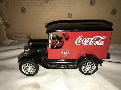 Ertl Coca Cola Replica Chevrolet Delivery Truck Bank
