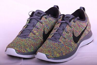 140d57bf30c00 MENS NIKE FLYKNIT LUNAR 1+ One MULTICOLOR 554887 004 Size 11 ...