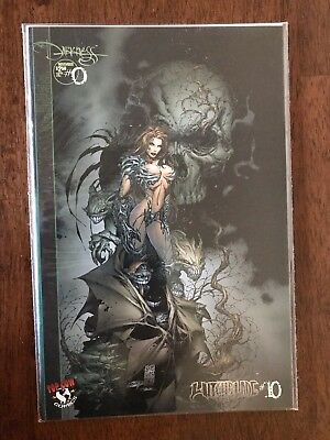 Witchblade Issue #10-B Darkness 1995 Image Top Cow November 1996 FREE bag/board