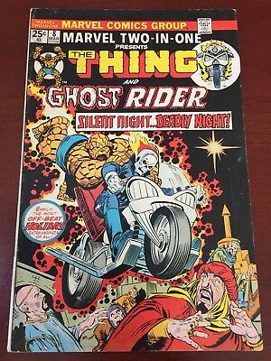 Ghost Rider #8 (Oct 1974, Marvel) Early Ghost Rider VG/FN