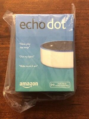 Amazon Echo Dot - White (2nd Generation) BRAND NEW IN THE BOX Free Shipping