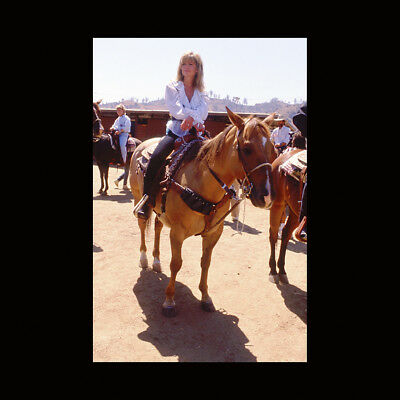 Lisa Hartman 35mm Transparency Slide Vintage Female Celebrity Actress c37.12