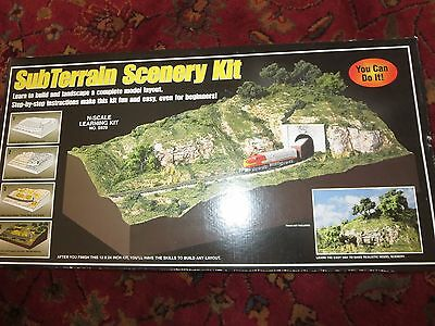 "Woodland Scenics-Subterrain Scenery Kit  12 x 24"" Includes Scenery Landscape NEW"