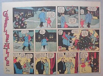 (50) Gasoline Alley Sunday Pages by Frank King from 1939 Half Page Size!