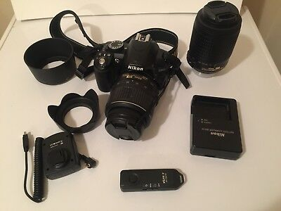 Nikon DSLR Camera D3100 with Accessories