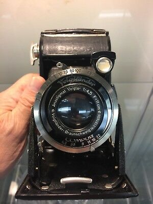 Vintage Voightlander Bessa folding camera  Excellent Condition