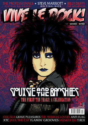 Vive Le Rock Magazine Issue 49 (Siouxsie & The Banshees, Steve Marriott) New