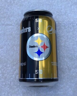 🏈 Nfl Pittsburgh Steelers; Pepsi Cola Limited Edition 2017 Can 🏈 Here We Go!