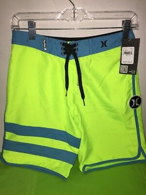 Hurley Big Boys' Block Party Board short VOLT Size 12 NEW with tags