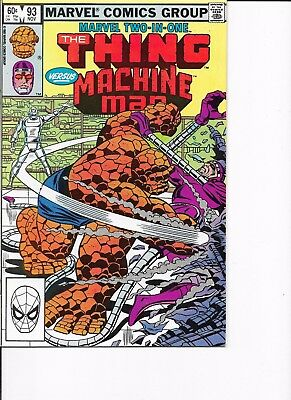 Marvel Two in One  #93