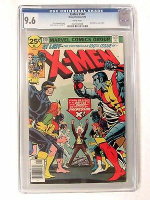 Marvel Comics X-Men #100 (1976) Old Vs. New Team CGC 9.6 White Pages BP492