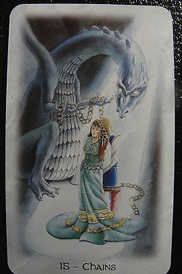 15-Chain The Celtic Dragon Tarot Single Replacement Card Excellent