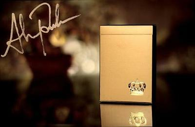 1 deck Gold Crown Deck Playing Cards By The Blue Crown S10219931510