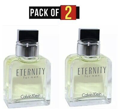 2X Eternity Cologne By CALVIN KLEIN FOR MEN Splash Dab On size .5